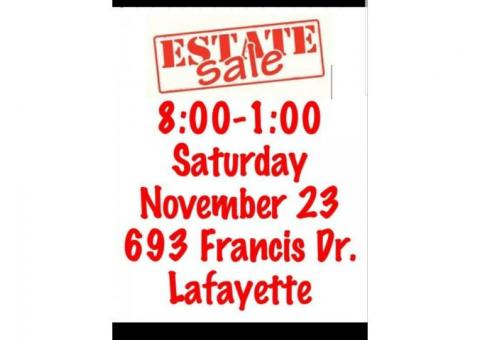 Estate Sale Lafayette