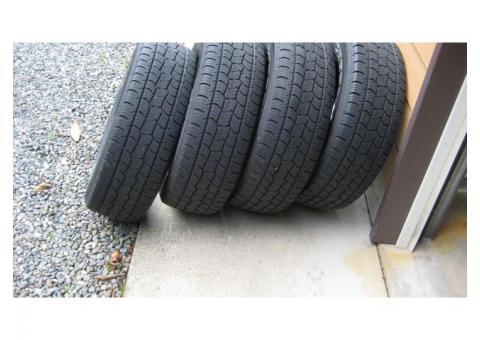 4 Cooper tires